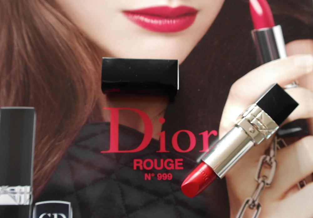 Dior red 999